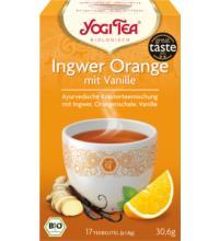 Yogi Tea Ingwer Orange, 1,8 gr, 17 Btl Packung