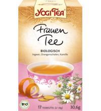 Yogi Tea Frauen Tee, 1,8 gr, 17 Btl Packung