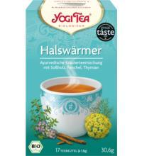 Yogi Tea Halswärmer, 1,9 gr, 17 Btl Packung