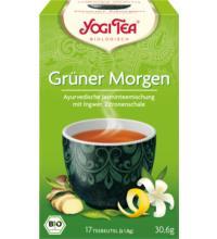 Yogi Tea Grüner Morgen, 1,76 gr, 17 Btl Packung