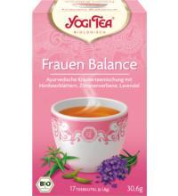 Yogi Tea Frauen Balance, 1,8 gr, 17 Btl Packung