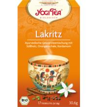 Yogi Tea Lakritz, 1,8 gr, 17 Btl Packung