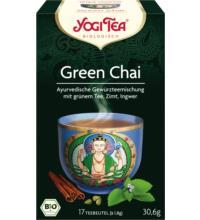 Yogi Tea Green Chai, 1,8 gr, 17 Btl Packung