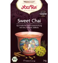 Yogi Tea Sweet Chai, 2 gr, 17 Btl Packung