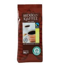 Lebensb Mexico-Kaffee,  gemahlen, 250 gr Packung