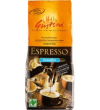 Gustoni Espresso, gemahlen,  250 gr Packung
