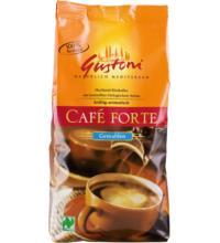 Gustoni Café Forte, kräftig-aromatisch, gemahlen, 500 gr Packung