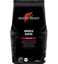 Mount Hagen Organic Röstkaffee, gemahlen, 500 gr Packung