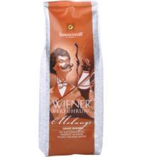 Sonnentor Wiener Verführung Melange, ganze Bohne, 500 gr Packung