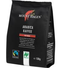 Mount Hagen Kaffeepads (18x7gr), 126 gr Packung