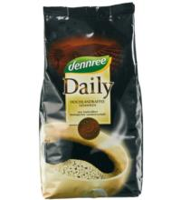 dennree Daily-Kaffee, gemahlen, 500 gr Packung