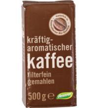 dennree Röstkaffee, gemahlen, 500 gr Packung