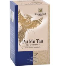 Sonnentor Weißer Tee - Pai Mu Tan, 1 gr, 18 Btl Packung