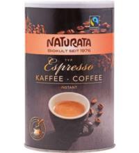 Naturata Espresso Bohnenkaffee, Instant, 100 gr Dose