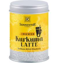 Sonnentor Kurkuma-Latte Ingwer - Goldene Milch, 60 gr Dose
