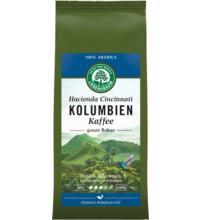 Lebensb Kolumbien Kaffee, ganze Bohne, 250 gr Packung