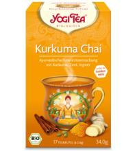 Yogi Tea Kurkuma Chai, 2 gr, 17 Btl Packung