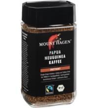 Mount Hagen Papua Neuguinea, Instant, 100 gr Glas