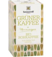Sonnentor Grüner Kaffee, 3 gr, 18 Btl Packung
