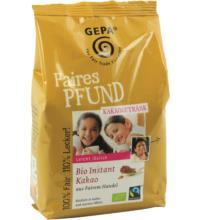 Gepa Faires Pfund Bio Instantkakao, 500 gr Packung