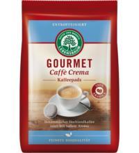 Lebensb Gourmet-Caffè Crema, Kaffeepads, entkoffeiniert (18x7gr), 126 gr Packung