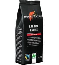 Mount Hagen Arabica Röstkaffee, gemahlen, 250 gr Packung