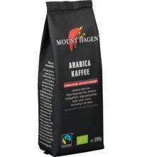 Mount Hagen Röstkaffee, entkoffeiniert, gemahlen, 250 gr Packung