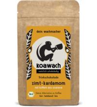 Koawach Zimt + Kardamon, 120 gr Packung -mit Guarana-