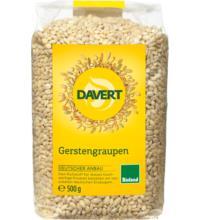 Davert Gerstengraupen, 500 gr Packung