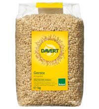 Davert Gerste, entspelzt, 1 kg Packung