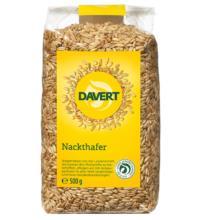 Davert Nackthafer, 500 gr Packung