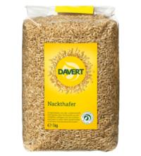 Davert Nackthafer, 1 kg Packung