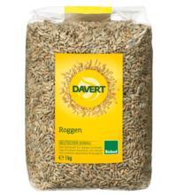 Davert Roggen, 1 kg Packung