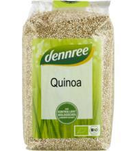 dennree Quinoa weiß, 500 gr Packung