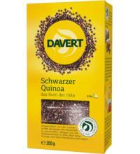 Davert Quinoa schwarz, 200 gr Packung