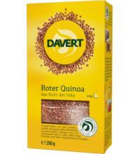 Davert Quinoa rot, 200 gr Packung