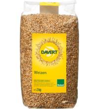 Davert Weizen, 2 kg Beutel