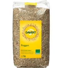 Davert Roggen, 2 kg Beutel