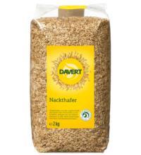 Davert Nackthafer, 2 kg Beutel