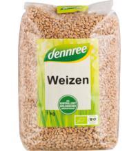 dennree Weizen, 1 kg Packung
