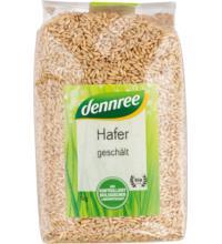 dennree Hafer geschält, Deutschland, 1 kg Packung