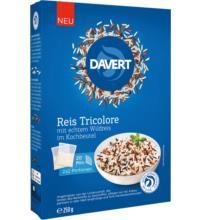 Davert Reis Tricolore, 250 gr Packungim Kochbeutel