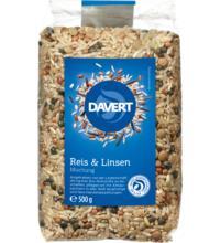 Davert Bunte Reis-Linsen-Mischung, 500 gr Packung