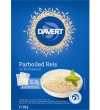 Davert Parboiled Reis im Kochbeutel, 250 gr Packung