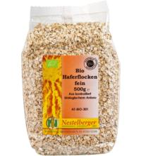 Nestelberger Naturprodukte Haferflocken,  fein, 500 gr Packung