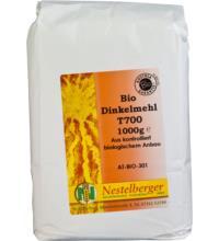 Nestelberger Naturprodukte Dinkelmehl Type 700, 1 kg Packung