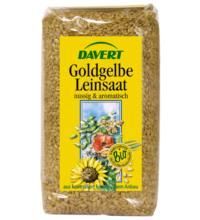 Davert Leinsaat goldgelb, 500 gr Packung
