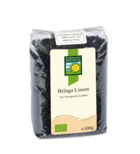 Bohlsener Beluga Linsen (schwarz), 500 gr Packung