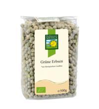 Bohlsener Erbsen, grün, ganz, 500 gr Packung