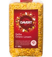 Davert Gelbe Orient Linsen, 500 gr Packung